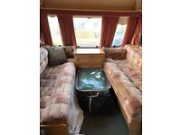Swift Duette classic caravan registered 1999 with full length awning