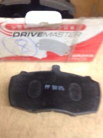 brake pads DRIVEMASTER PF-50 (see pic)