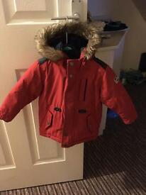 Boys next padded coat 12-18 months