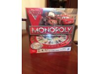 Lightening McQueen racetrack board game