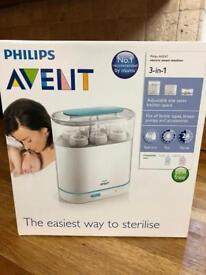 Avent 3 in 1 electric steriliser