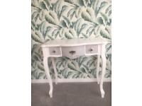 French style console/dressing table