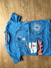 blue t-shirt 4-5