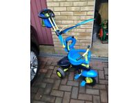 3 wheeled push along trike