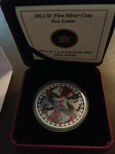 Two Loons Coin - 2012
