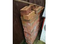 red bricks, like new aprox 150