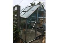 Greenhouse 6'x6' £30 ono