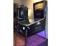 Virtual Pinball Machine Arcade Machine for Games Room Man Cave * Apollo 13 Space Sci Fi Theme *