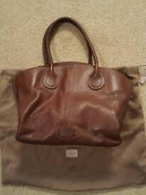 Radley Brown Leather Handbag