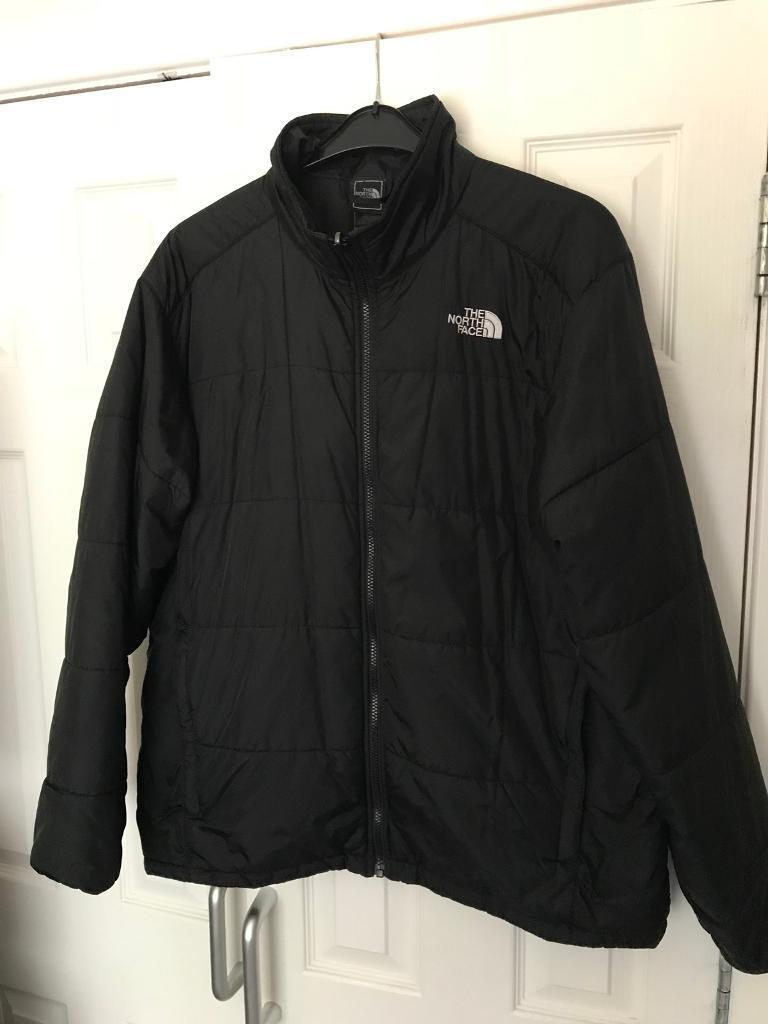 Mens Northface Jacketin Livingston, West Lothian - Men's XL Black Quilted northface Jacket. In great condition but not being worn as offend and having a clear out. Sell for £30 which is cheap considering what I actually paid for it. Cash & Collection in Livingston. Thanks