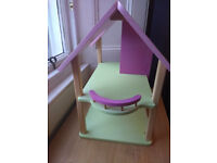 Beautiful dolls house, with characters & lots of furniture