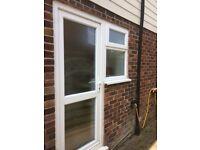 Double glazed upvc door & window GOOD CONDITION