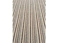 Brand new wool striped carpet 12ft by 6ft 9in