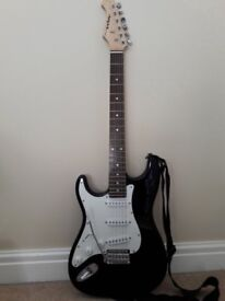 Aria STG Series left handed electric guitar