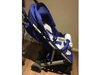 Mamas and papas luna blue pushchair