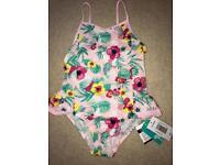 Girls swimming costume 4-5 years