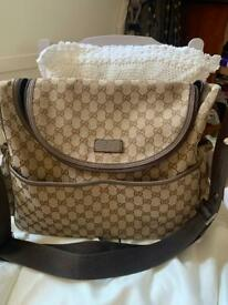 Gucci baby bag exc con