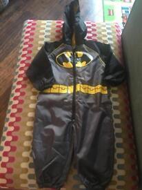 Batman Puddlesuit age 1-1.5