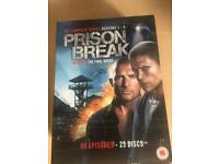 Prison Break Season 1-4 Dvds