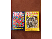 2 x THE WORLDS MOST DIFFICULT JIGSAW PUZZLES-529 PIECES