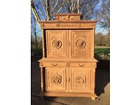 Carved Oak Dresser from France