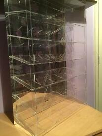 Scalextric/slot car display case