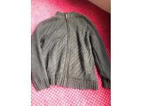"""XXL Zipper/Knitted Jacket chest 48-50"""""""
