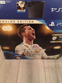 Ps4 with box and fifa 18