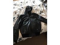 Henry Baxter leather coat