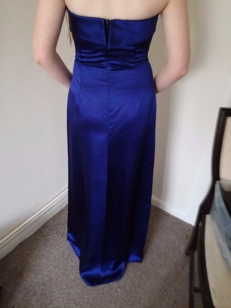 Blue Monsoon evening dress size 8