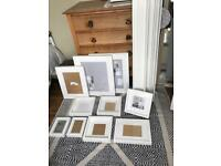 Ikea picture frames and picture rails