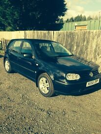 Vw golf 1.4 s petrol 5 door