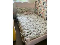 Handmade Pine Bedroom Furniture In Pink