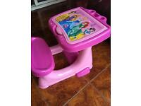 Disney princess drawing table and dressing table £10 for both