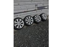 Mini Alloys with 205/45/17 tyres