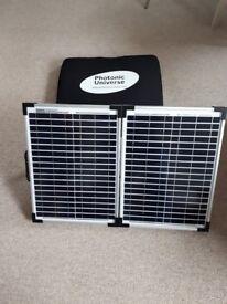 Solar panel folding charging kit 40W 12V