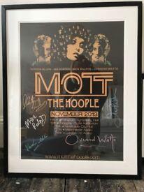 Mott The Hoople Poster