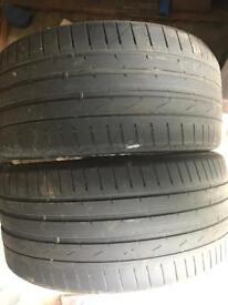 """18 """" Part worn Tyres"""