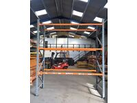APEX 900mm DEEP INDUSTRIAL COMMERCIAL GARAGE LONGSPAN PALLET RACKING UNIT BAY