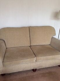 FREE matching 2 seater and 3 seater sofas