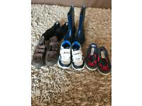 Size 9 shoes/ boots kids/toddler