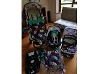 Cosatto Giggle 2 3in1 Travel System FREE ISOFIX BASE