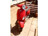 Vespa Piaggio lx50 2 stroke Red 2010 50cc