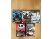 A Selection of DVD Movies