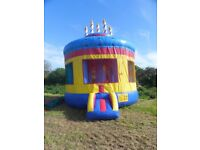 Bouncy Castle, large birthday cake , 18ft dia x 20ft high in great condition with no signs of wear