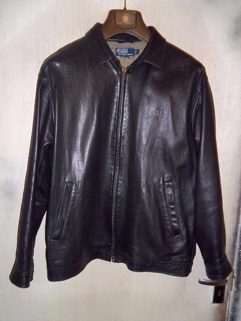 Polo Lauren Harrington Vintage Leather Gumtree Jacket RichmondLondon XlIn Ralph F15uTlJ3cK