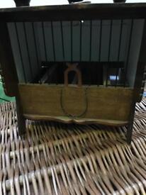 Antique Chinese songbird box