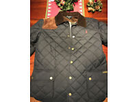 Fabulous genuine Navy blue Ralph Lauren Polo Quilted jacket XL