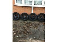 "Alloys, allou wheels 16"" poison with great tyres 4x100, vauxhall and many more."