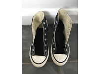 Black Converse Boots - size 12